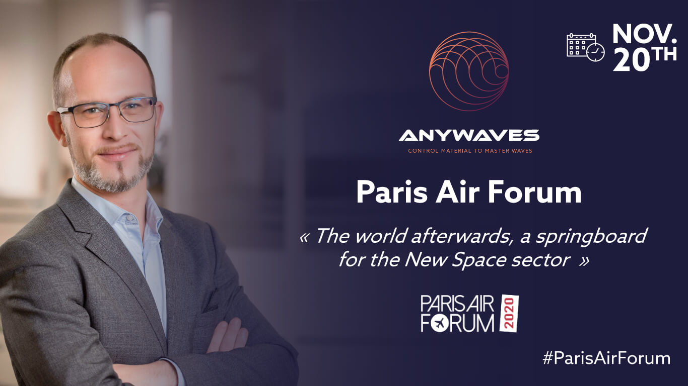 ANYWAVES online with the 7th edition of the Paris Air Forum