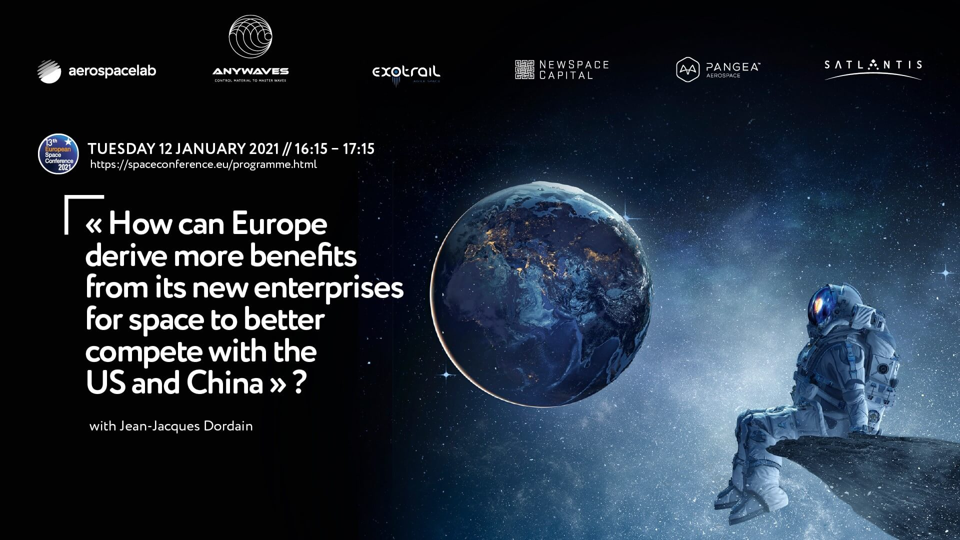 ANYWAVES part of the 13th European Space Conference