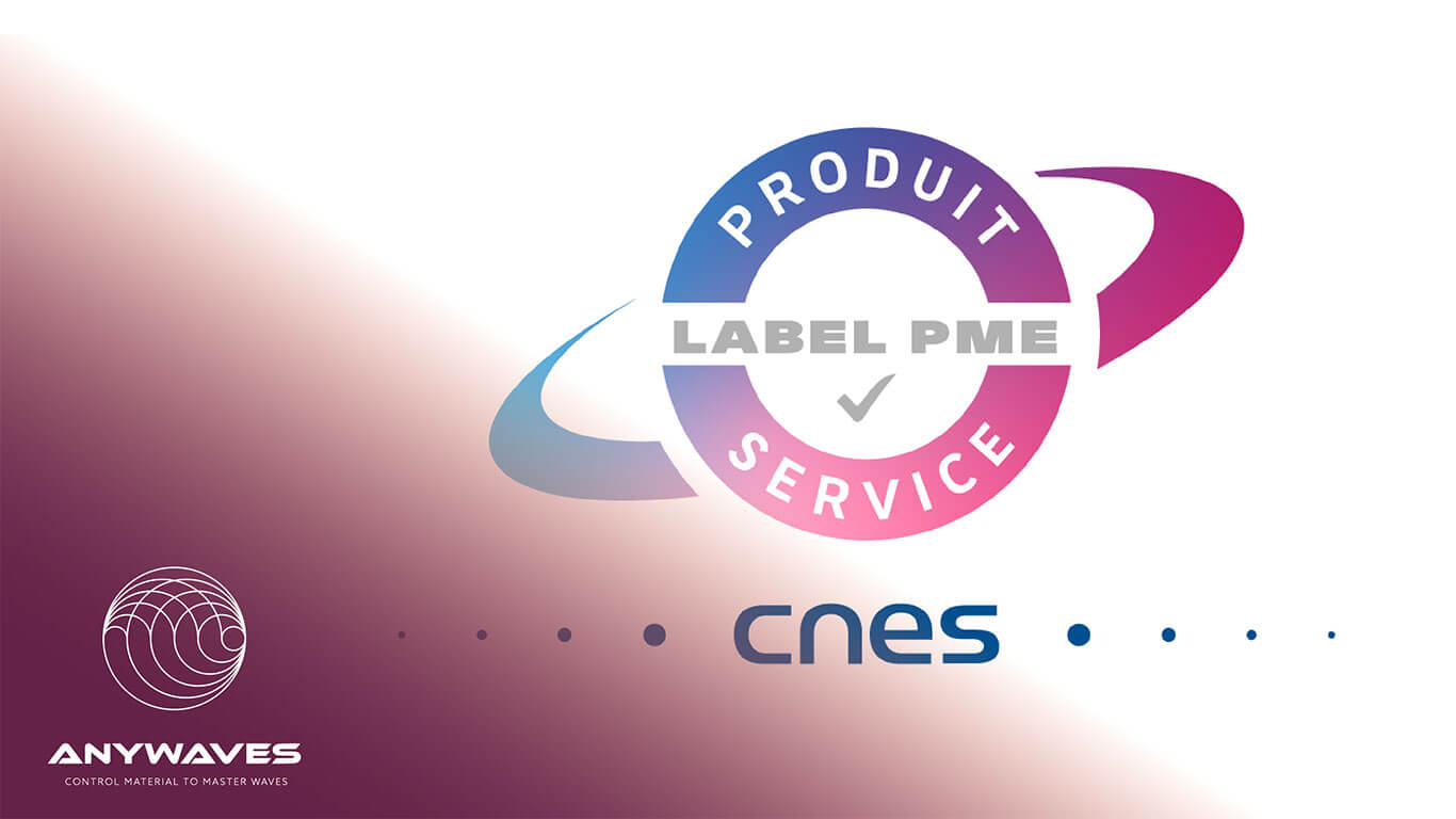 ANYWAVES among the first SMEs to get CNES' label