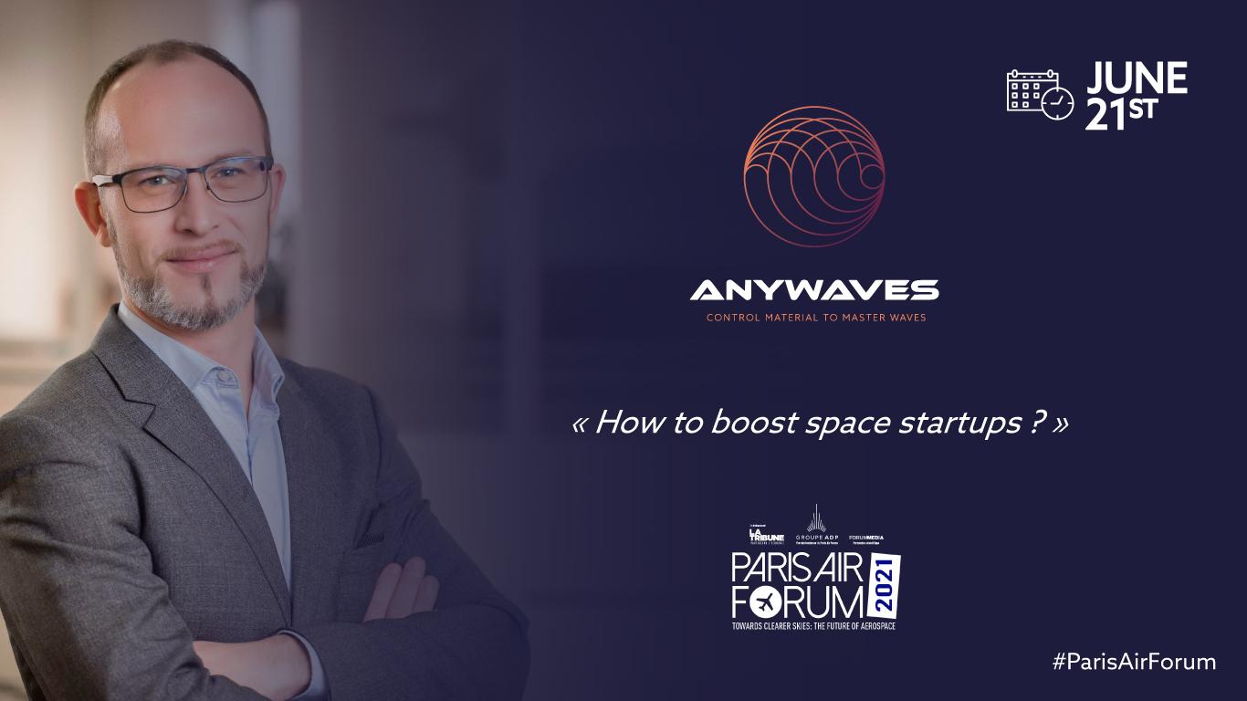 Nicolas CAPET speaker at the 2021 Paris Air Forum
