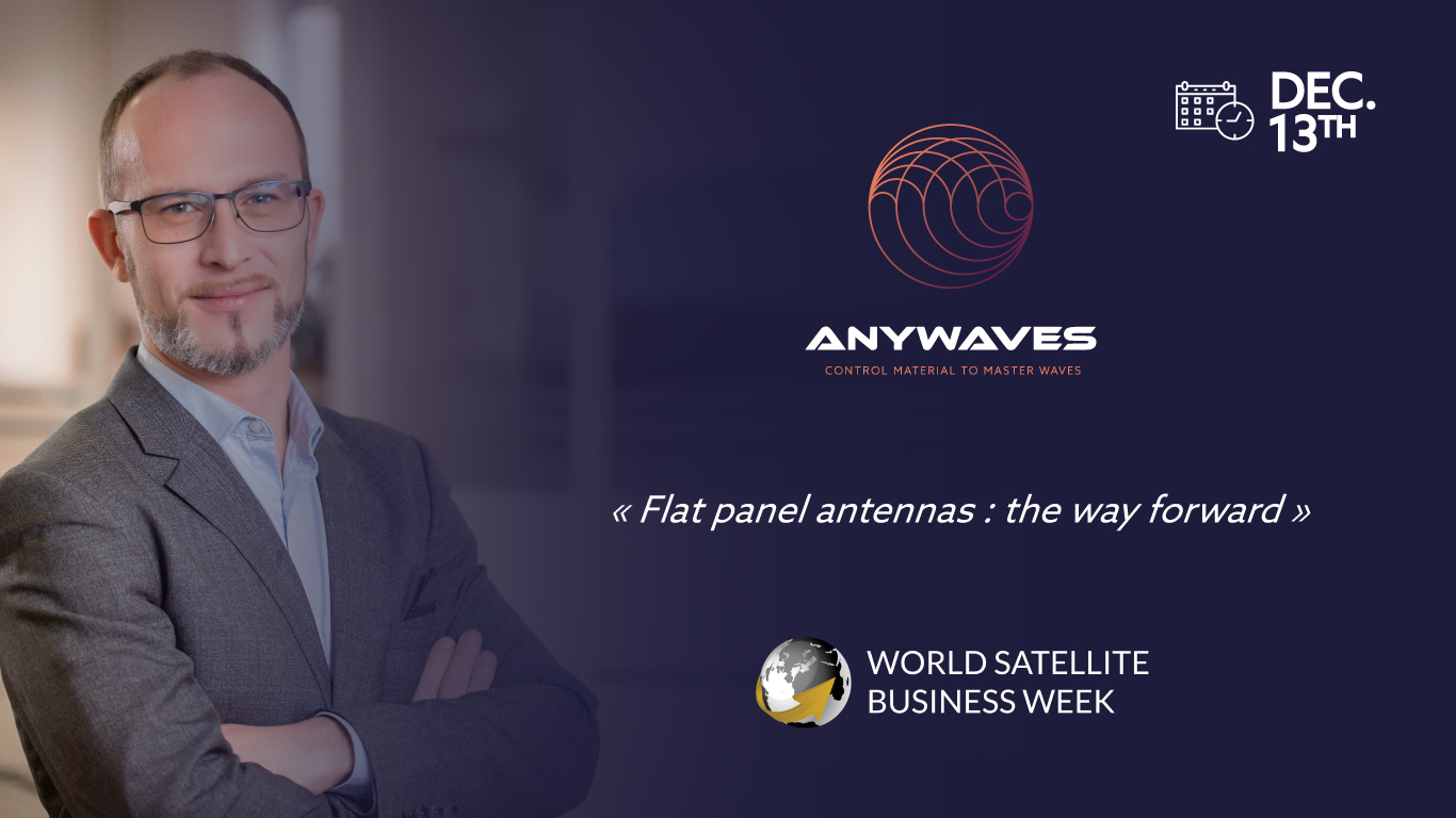 Nicolas Capet speaker at the 2021 World Satellite Business Week