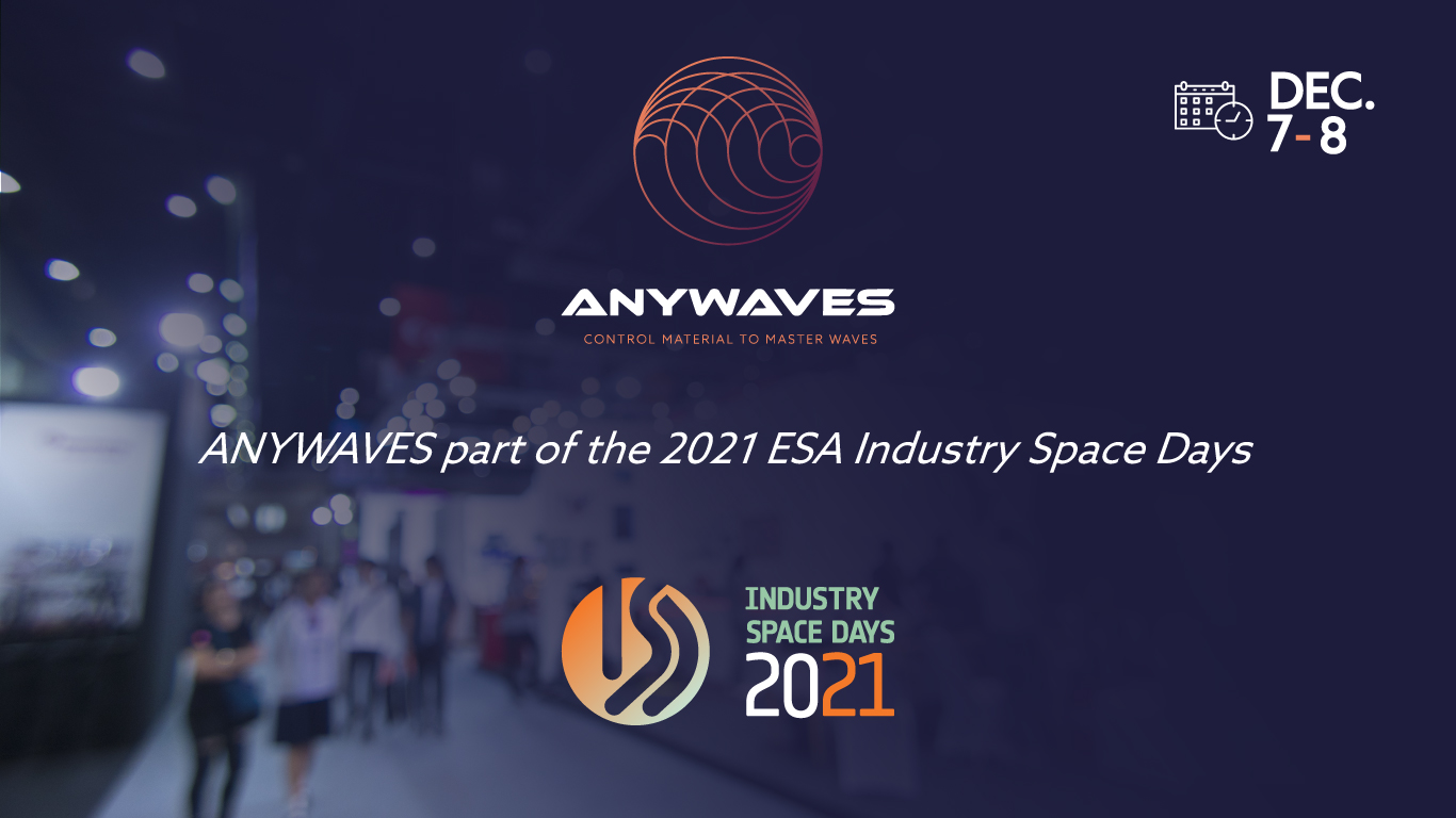 ANYWAVES part of the 2021 ESA Industry Space Days